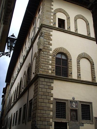 Palazzo Borgherini Rosselli del Turco firenze