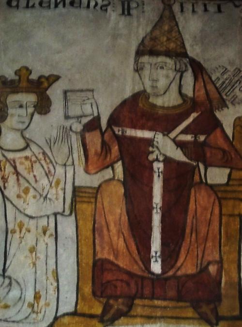 Clemente IV e Carlo dAngiò
