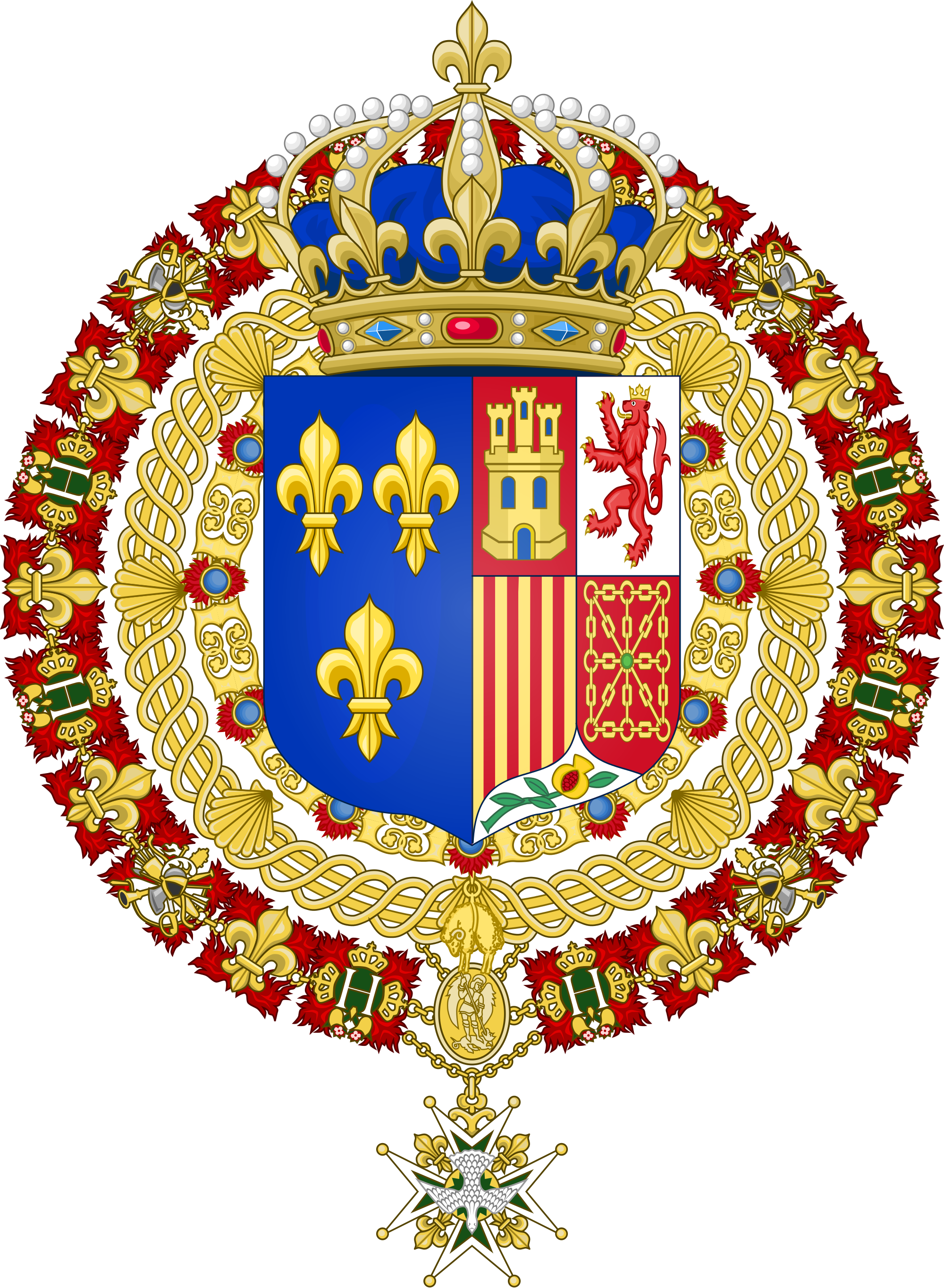 Parte Guelfa Legato della Casa dAngiò Luigi Alfonso di Borbone Dampierre