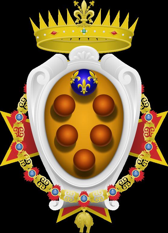 Parte Guelfa Legato della Casa de Medici di Toscana Lorenzo De Medici Tornaquinci