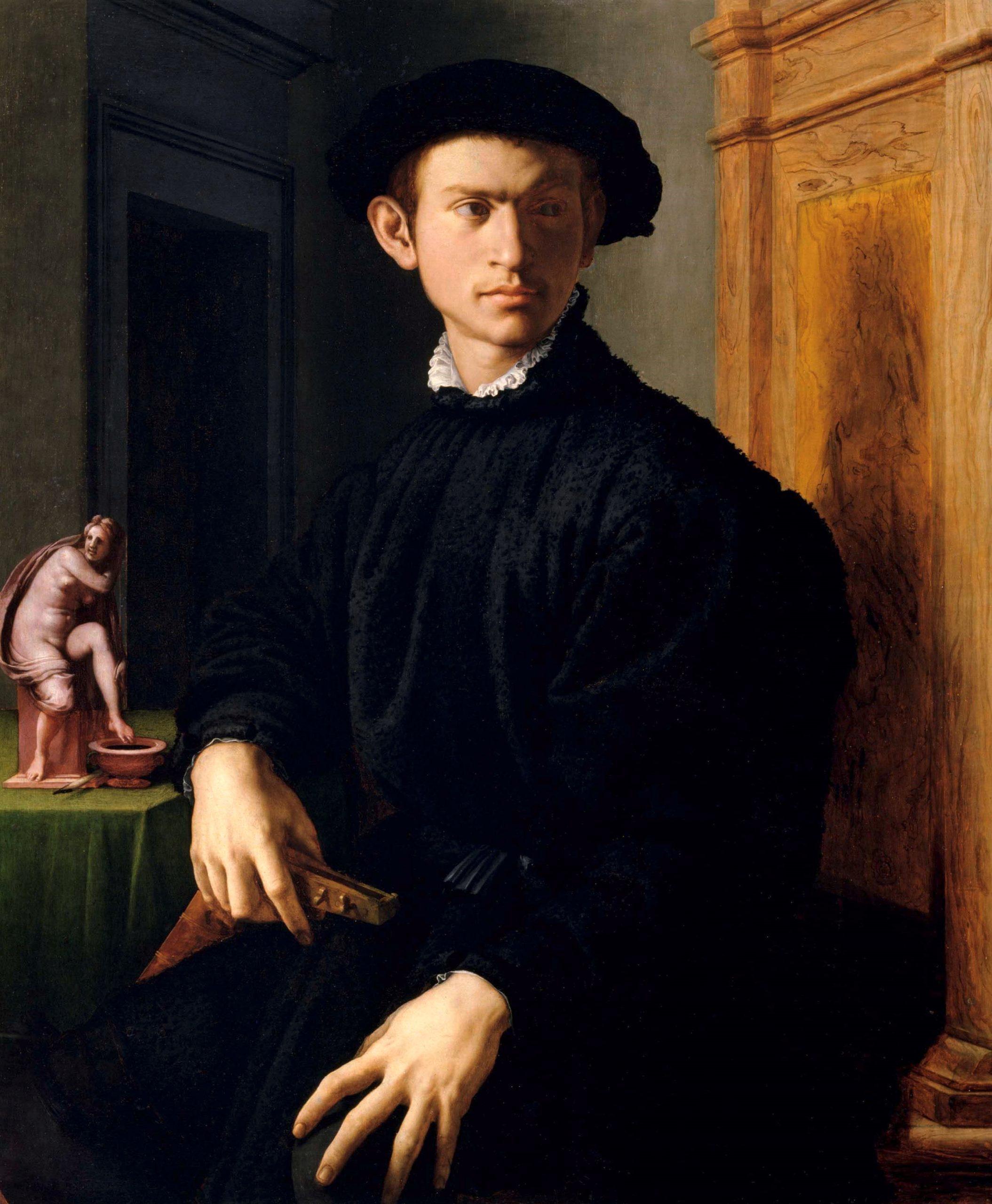 Bronzino giovane con liuto 1538