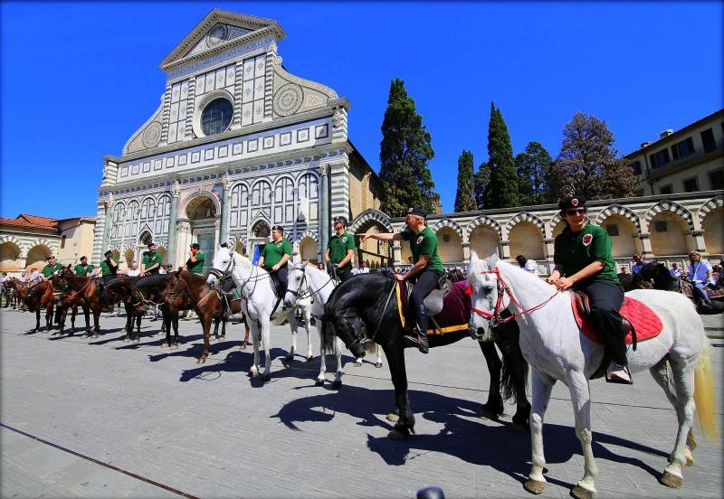 Parte Guelfa schierata in Santa Maria Novella