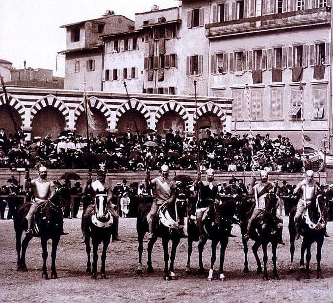 Santa Maria Novella 1902 cavalleria fiorentina 1