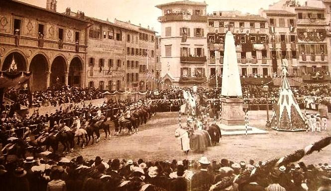 Santa Maria Novella 1902 cavalleria fiorentina 3