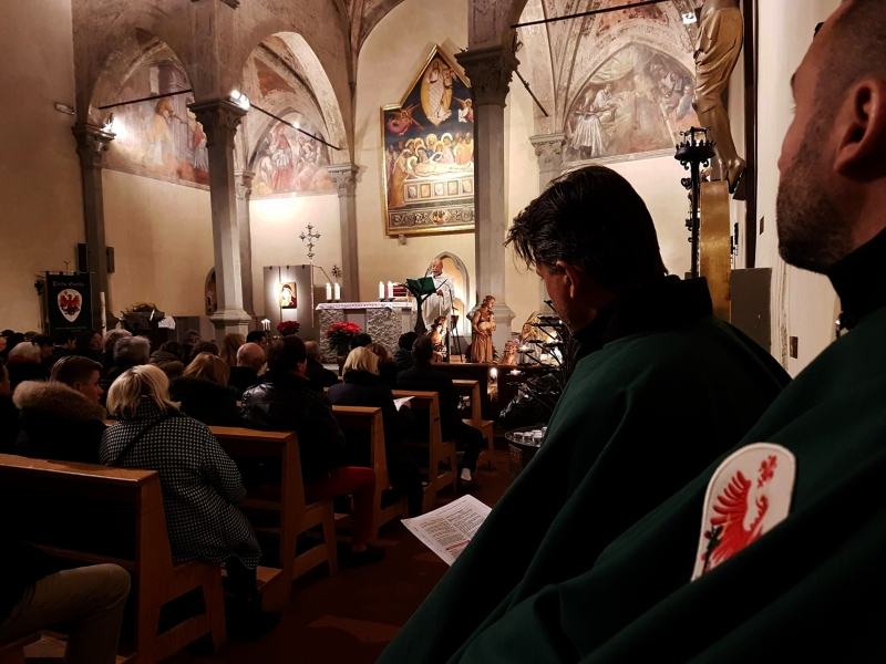 Parte Guelfa Messa di Natale 2016 Rettoria San Carlo Firenze 1