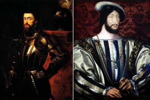 Parte Guelfa Carlo V e Francesco I