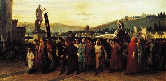 Parte Guelfa Francesco Saverio Altamura I funerali di Buondelmonte