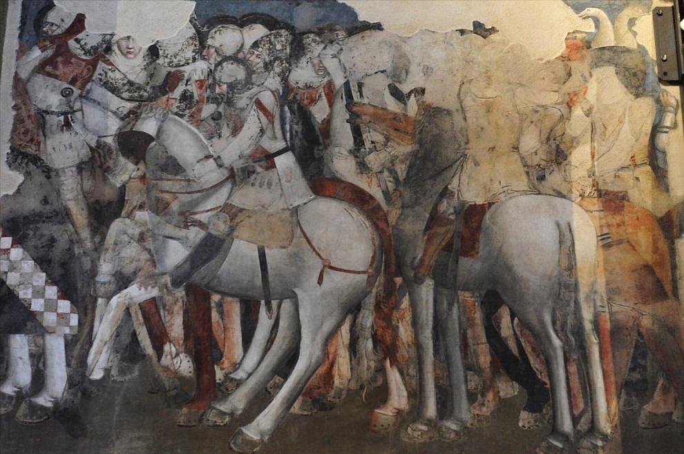 Parte Guelfa Santa Maria Novella cavalieri fiorentini XIII secolo ampio