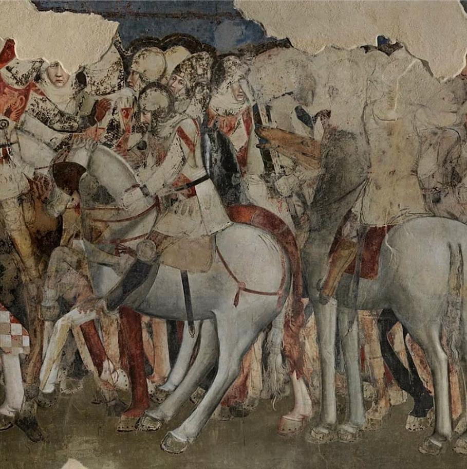 Parte Guelfa Santa Maria Novella cavalieri fiorentini XIII secolo grande