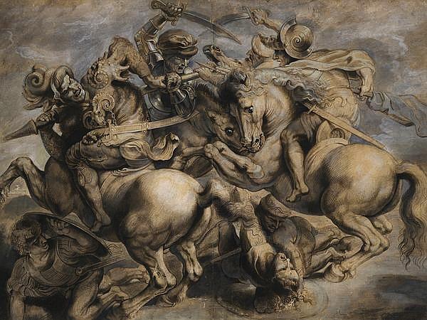 Parte Guelfa Battaglia di Anghiari Leonardo Da Vinci
