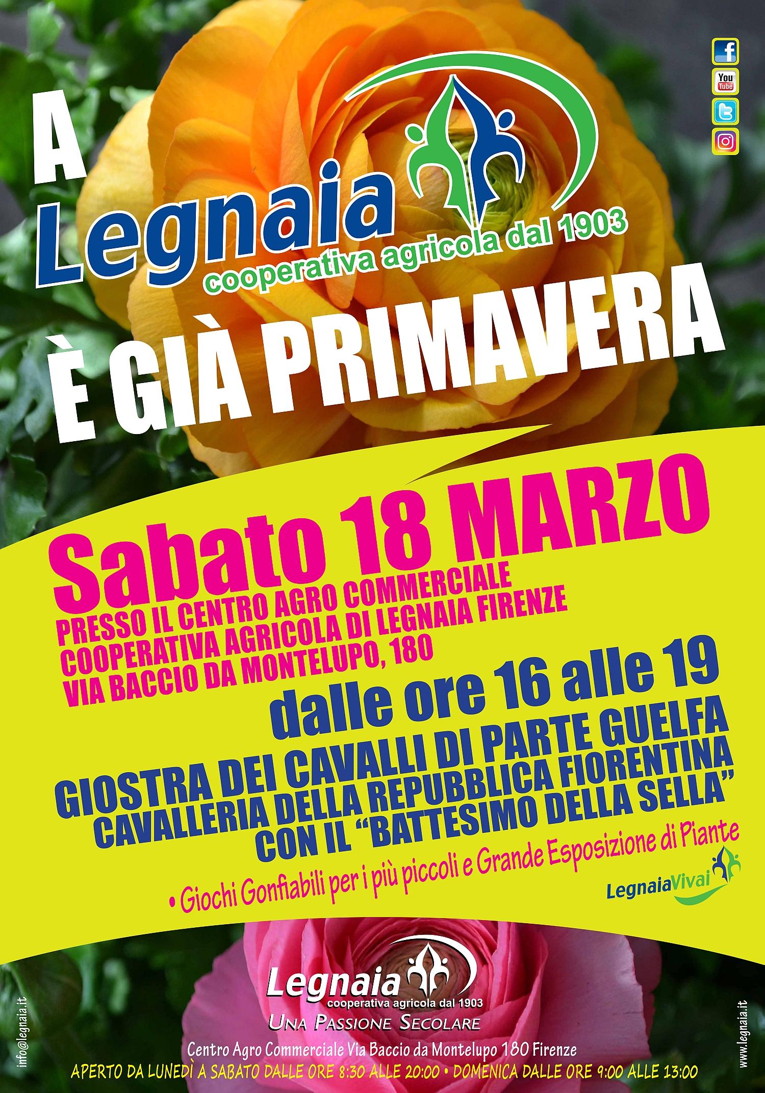 Parte Guelfa legnaia manifesto primavera 18 marzo 2017