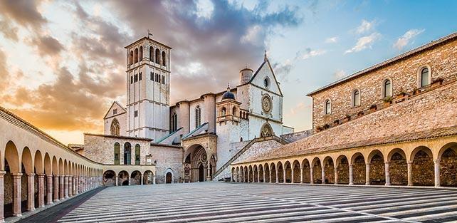 Parte Guelfa Assisi San Francesco San Ludovico dAngiò pellegrinaggio 2017