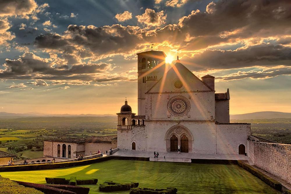 Parte Guelfa Assisi basilica superiore pellegrinaggio 2017