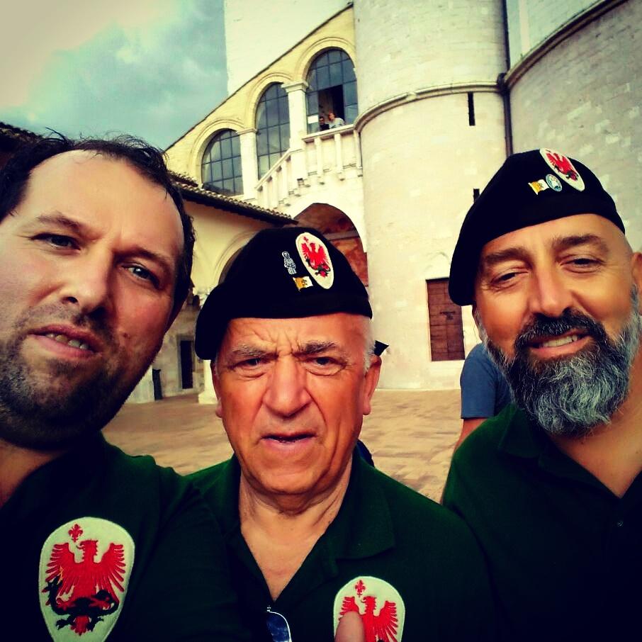 Parte Guelfa Assisi Pellegrinaggio 2017 Basilica Superiore Alberto Bellini Dimitri Caciolli Andrea Claudio Galluzzo