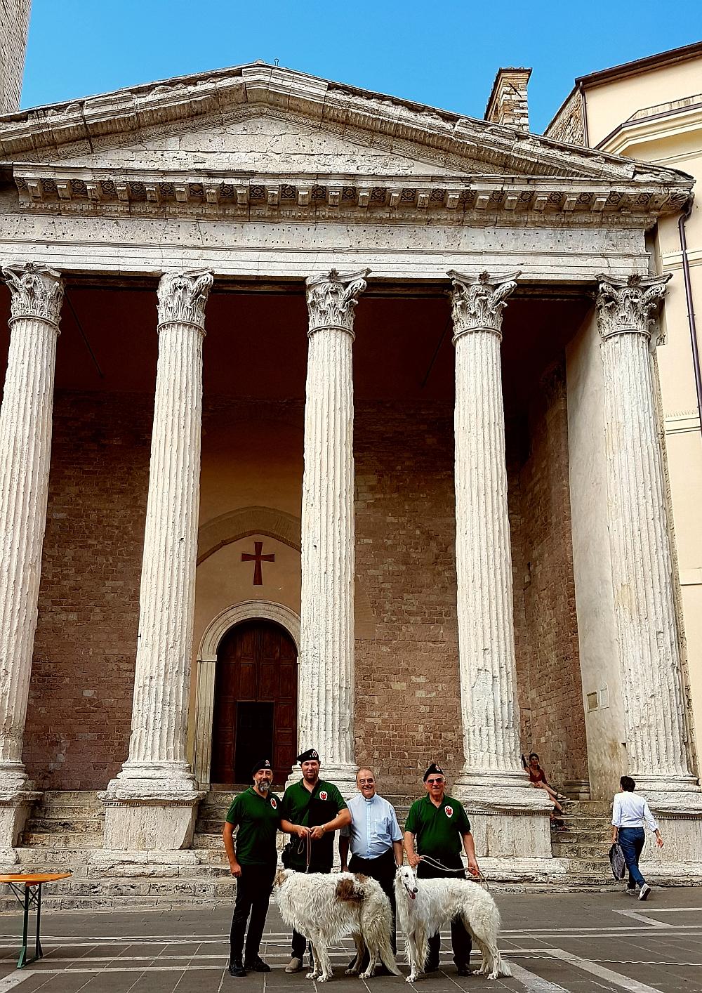 Parte Guelfa Assisi Pellegrinaggio 2017 Santa Maria Sopra Minerva Andrea Claudio Galluzzo Alberto Bellini Mons. Vasco Giuliani Dimitri Caciolli
