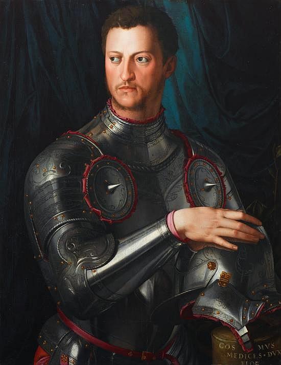 Parte Guelfa Bronzino ritratto Cosimo I Medici