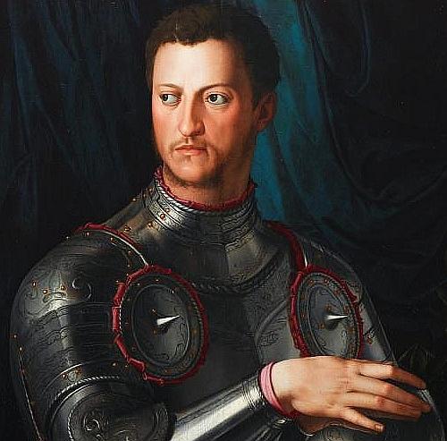 Parte Guelfa Bronzino ritratto Cosimo I Medici cover