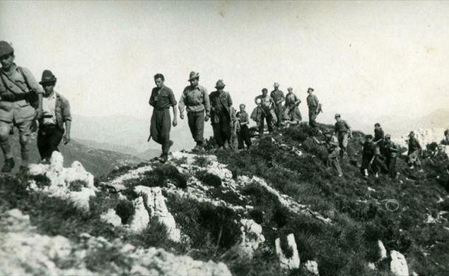 Parte Guelfa partigiani guelfi cattolici in montagna alpini 1945
