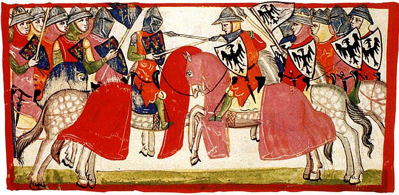 Parte Guelgfa battaglia di Benevento