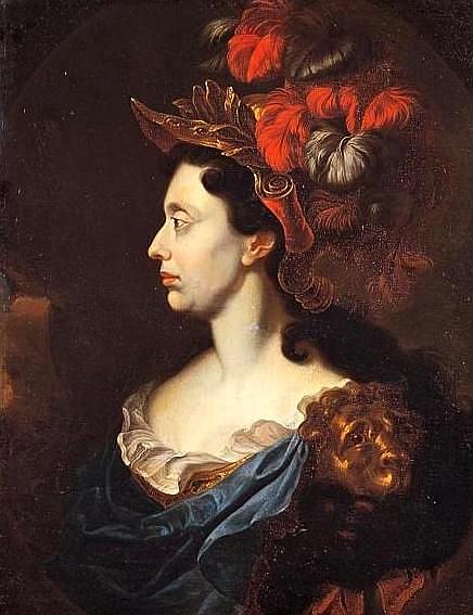 Parte Guelfa Anna Maria Luisa de Medici come Minerva di Jan Frans van Douven