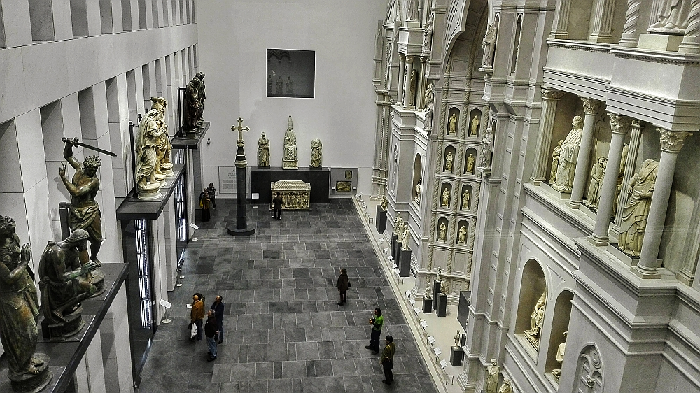 Parte Guelfa Grande Museo Opera del Duomo di Firenze sala grande