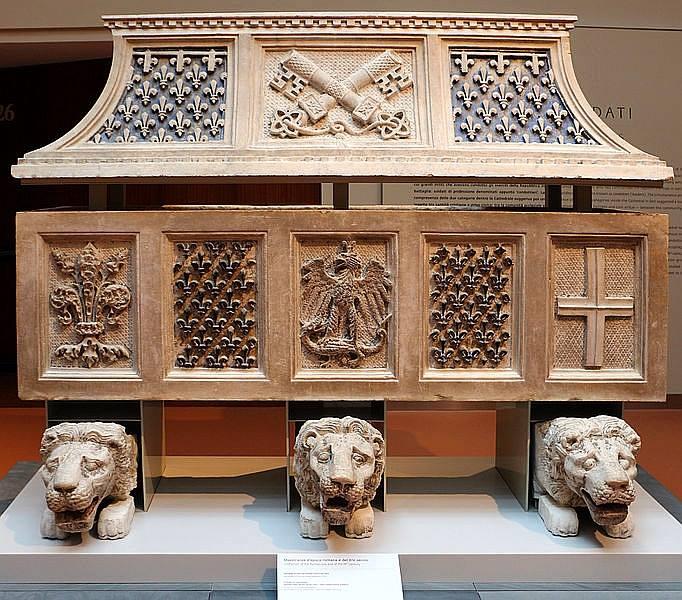 Parte Guelfa Grande Museo Opera del Duomo di Firenze sarcofago Farnese