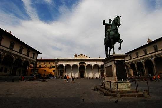 Parte Guelfa Piazza Santissima Annunziata