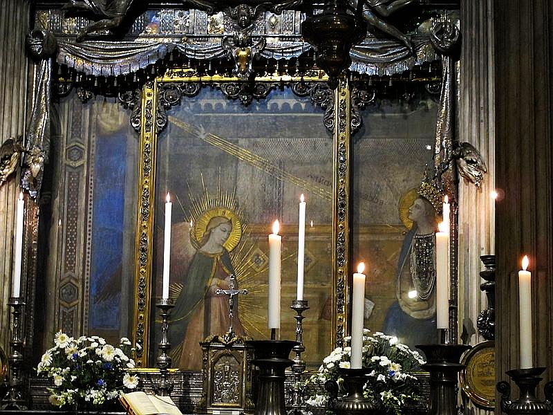 Parte Guelfa Santissima Annunziata Santuario mariano di Firenze annunciazione