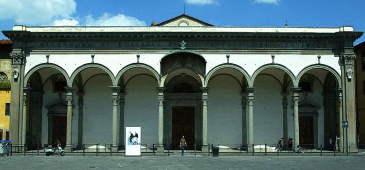 Parte Guelfa Santissima Annunziata Santuario mariano di Firenze facciata