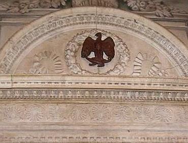 Parte Guelfa Santissima Annunziata archivio segreto di Parte Guelfa Sacrestia entrata