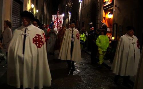 Parte Guelfa Ordine Santo Sepolcro processione santi apostoli sabato santo 1