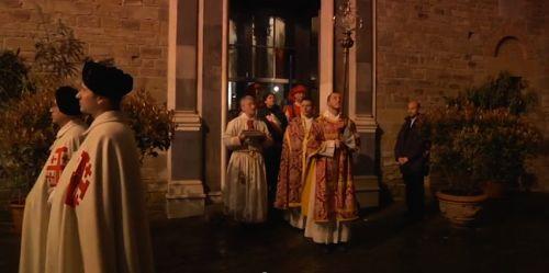Parte Guelfa Ordine Santo Sepolcro processione santi apostoli sabato santo 2