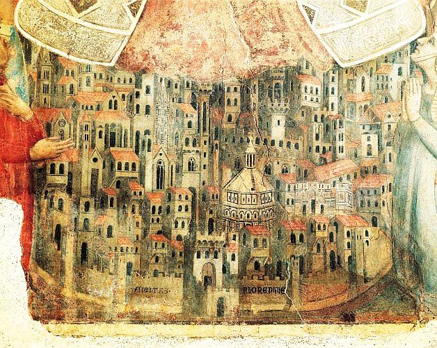 Parte Guelfa Madonna della Misericordia Museo del Bigallo Bernardo Daddi 1342