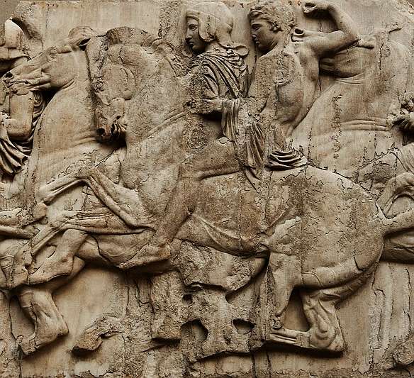 Parte Guelfa cavalcata delle panatenee Fidia Partenone