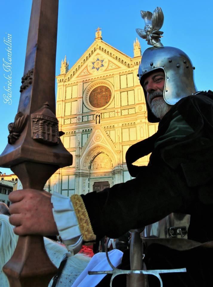 Parte Guelfa Principe Gandolfo Ventimiglia capitano della compagnia equestre dei Bianchi di Santo Spirito