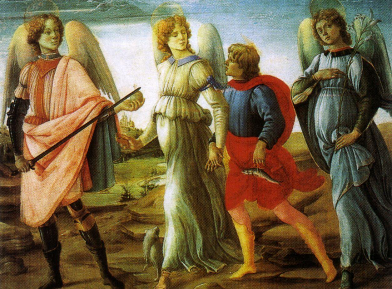 Parte Guelfa Filippino Lippi Tobiolo e gli arcangeli 1485