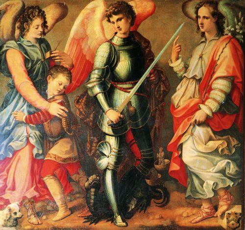Parte Guelfa arcangeli Michele Raffaele Gabriele Tosini small