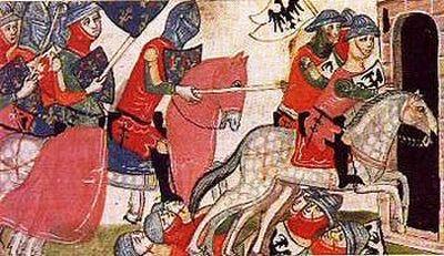 Parte Guelfa Cavalleria Fiorentina alla battaglia di Benevento