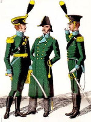 Parte Guelfa Dragoni di Toscana uniformi toscane 1861 small