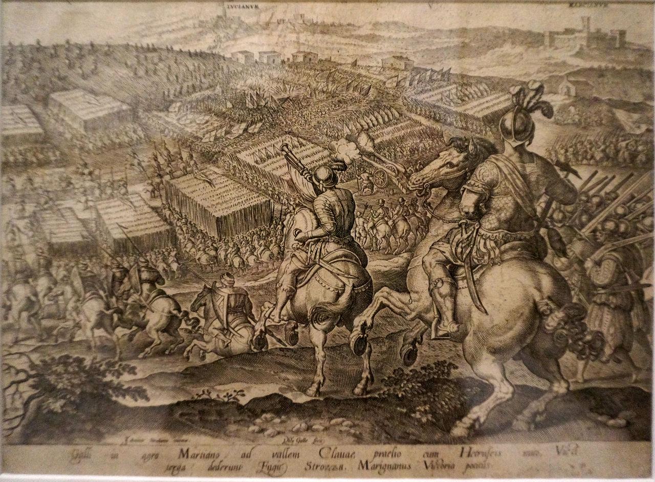 Parte Guelfa Giovanni delle Bande Nere archibugieri a cavallo