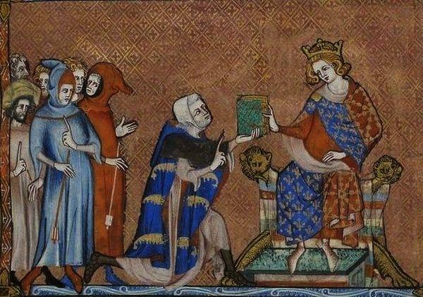 Parte Guelfa San Luigi IX Jean de Joinville