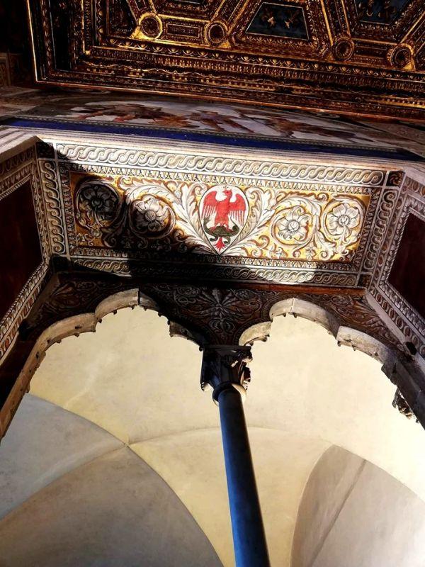 Parte Guelfa sala dei Gigli Palazzo Vecchio