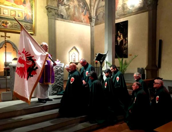 Parte Guelfa Festa delle Insegne 2020 monsignor Vasco Giuliani 1