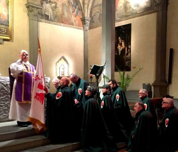 Parte Guelfa Festa delle Insegne 2020 monsignor Vasco Giuliani 2