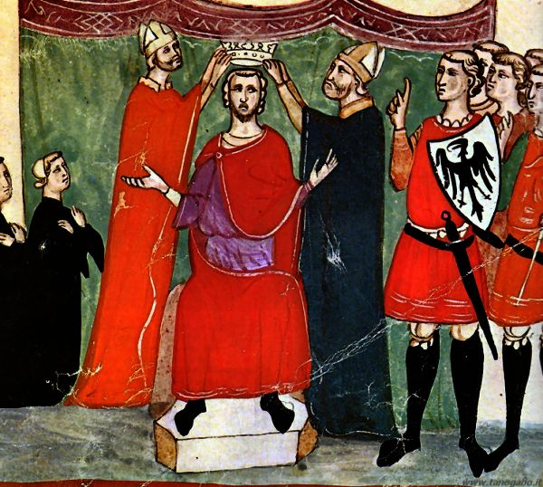 Parte Guelfa Incoronazione di Manfredi re di sicilia